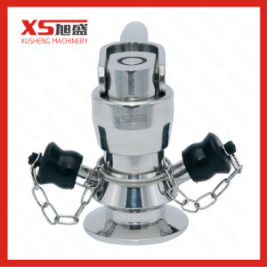 Stainless Steel Aseptic Auto Reset Sample Valve pictures & photos