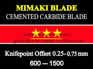 New Mimaki Compatible Carbide Vinyl Cutting Blades pictures & photos