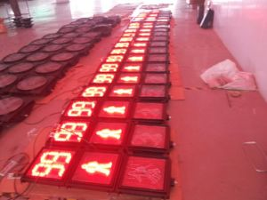300mm Pedestrian LED Flashing Traffic Light for Roadway Safety pictures & photos
