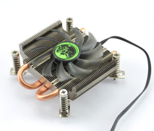 Micro ATX Computer Case CPU Cooler Heatpipes with PWM Fan for Intel LGA 775/1155 Socket pictures & photos