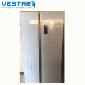 Cold and Hot Water Dispenser Double Sided Half Freezer Half Refrigerator pictures & photos