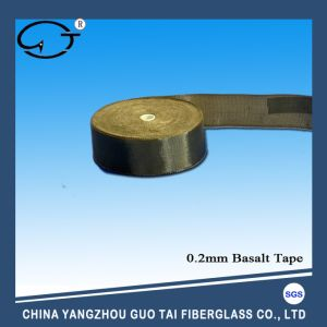 Hot Sale Basalt Fiber Braided Tape pictures & photos