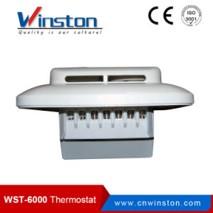 2-Position Control with Sensor Electrical Floor Heating Mechanical Bimetal Room Thermostat (WST-6000) pictures & photos