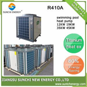 Swimming Pool 32deg. C Hot Water 12kw/19kw/35kw/70kw Thermostat Heat Pump pictures & photos