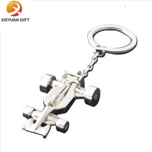 Plane Shape 3D Metal Key Holder with Silver Plating (XY-mxl91005) pictures & photos