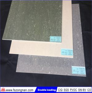Gray Color Double Loading Porcelain Polished Floor Tiles (VPD6006-2) pictures & photos