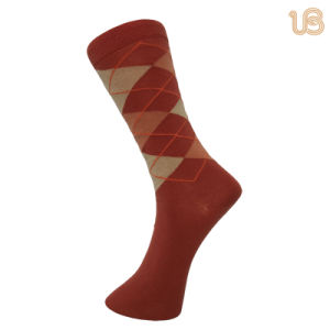 Men′s Comb Cotton Sock for USA pictures & photos