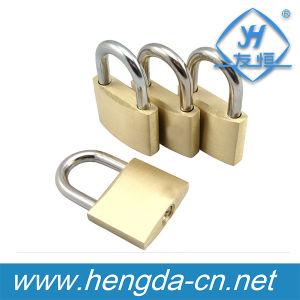 Yh1637 Top Sale Cheap Security Brass Padlock 40mm Key Padlock pictures & photos