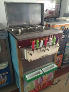 Industrial Floor Standing Soft Ice Cream Making Machine pictures & photos