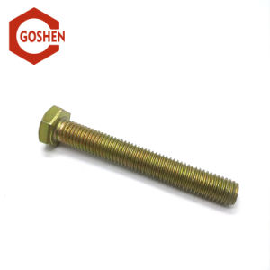 ASTM A307A High Strength Zinc Plated Hex Bolts pictures & photos