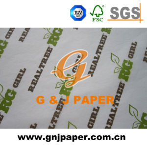 Mf Printed White Tissue Wrapping Paper in Big Sheet Size pictures & photos