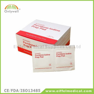 Sterilized Medical First Aid Antiseptic Alcohol Bzk Swab pictures & photos