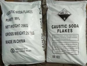 99% Caustic Soda Flake for Soap Making pictures & photos