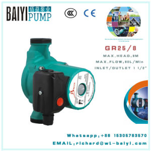 Heating Circulation Pump RS25/8 for Russia Ukraine pictures & photos