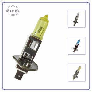 Headlight H1 12V Yellow Halogen Car Fog Lamp/Light pictures & photos