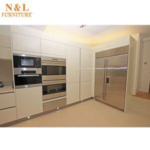Wooden Furniture Modern Melamine Kitchen Cabinet pictures & photos