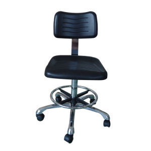 Antislip Surface PU Leather Industrial ESD Chair pictures & photos