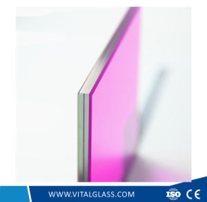 Clear/Pink/Blue Opal Tempered/Laminated/Building Glass for Windows Glass pictures & photos