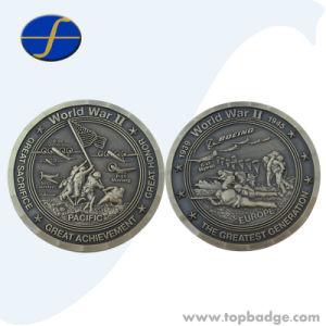Custom Challenge Souvenir Antique 3D Engraved Metal Coins (FTCN1957A) pictures & photos