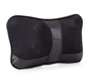 Neck Pillow Massager Shiatsu Deep Kneading Massage with Heat for Relieving Back Neck and Shoulder Pain