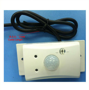 24V Energy Saving Wall Mounted Human Body Light Switch Hw-8090 pictures & photos