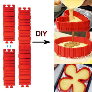 Silicone Cake Mould Waffle Makers for Kids Silicone Bakeware Set Nonstick Silicone Baking Mold Set pictures & photos