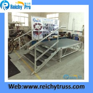Hot Sale Portable Aluminum Easy Assemble Warterproof Anti-Slip Stage pictures & photos