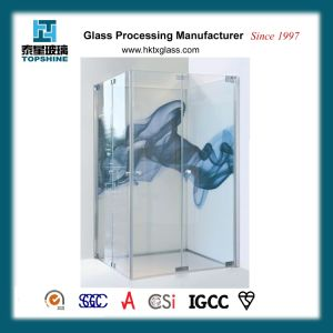 Euro Fashion Digital Printing Glass for Shower Room Glass Door pictures & photos