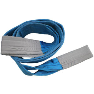 8 Ton Flat Webbing Sling with Eye pictures & photos