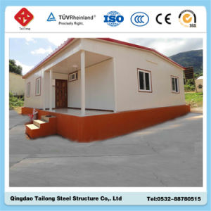 2015 Light Steel Beautiful Design Prefab Container House pictures & photos