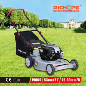High Efficiency Gasoline Lawn Mower for Garden Equipment pictures & photos