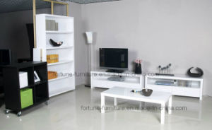 Modern Wooden UV High Gloss White Coffee Table 5061