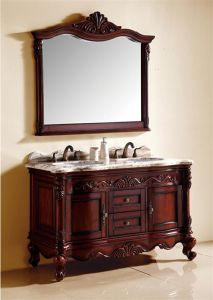 Luxury Solid Wood Bathroom Cabinet Al6330