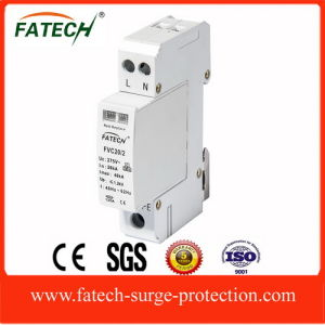 Small Size 2 Poles 40kA Surge Protector pictures & photos