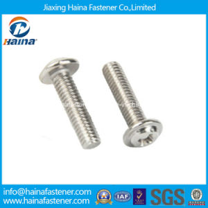 Stock DIN967 Stainless Steel Cross Recess Pan Head Machine Screw pictures & photos