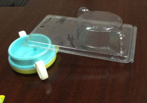 Transparent Plastic Blister Clamshell Packaging Box (PVC package) pictures & photos