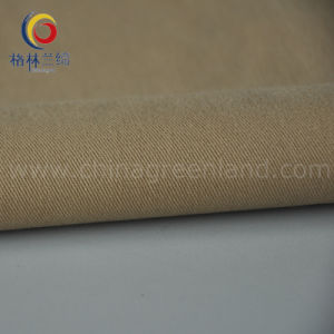 Cotton Spandex Twill Fabric with Peached Skin (GLLMMSK001) pictures & photos