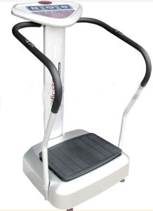 Hot Sale Crazy Fit Massage with Strap Vibration Plate (1002) pictures & photos