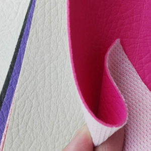 Colorful PU/PVC Leather/ Artificial Leather for Sofa, Garment pictures & photos