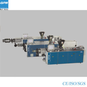 High Quality Single/Double Screw Pipe Extruder pictures & photos