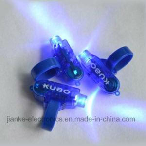 Blue LED Flashing Light Finger with Logo Print (4012)