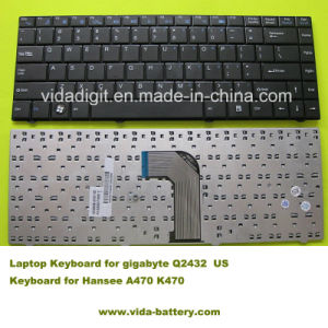 Computer Accessories/Laptop Keyboard for Hansee A470 K470/Gigabyte Q2432 pictures & photos