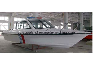 Aqualand 12 Persons Fiberglass Passenger Boat/Ferry Boay/Water Taxi(760 pictures & photos
