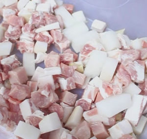 Frozen Meat Cube Dicing Machine pictures & photos