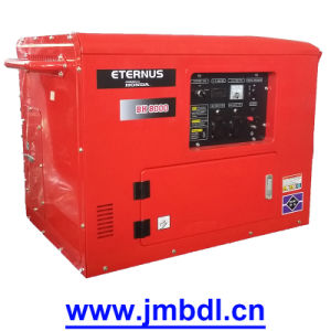 Portable Gasoline Generating Set for Camping (BH8000) pictures & photos