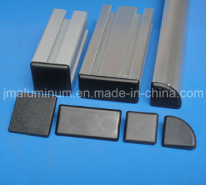 6/6.8 Mm Hole Size Cover Profile Fastener Cover Profile End Cap for Aluminum Profile and Components pictures & photos