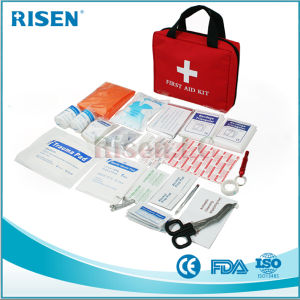101 Pieces Portable Personal First Aid Kit with FDA Approved pictures & photos