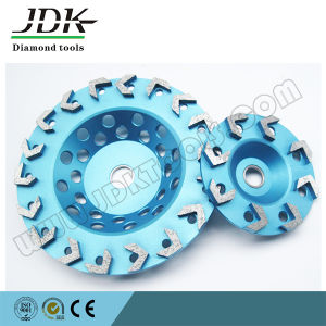Diamond Cup Wheel Arrow Segments for Concrete pictures & photos