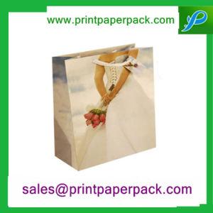 Custom Design Prmotional Recyclable Luxury Retail Kraft Paper Bag pictures & photos