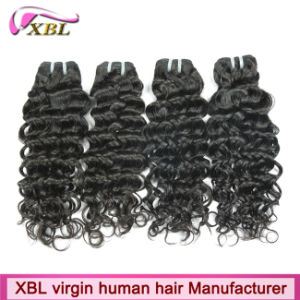 Natural Color Cambodian Dark Brown Hair Extensions pictures & photos